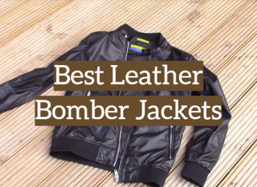 Best Leather Bomber Jackets