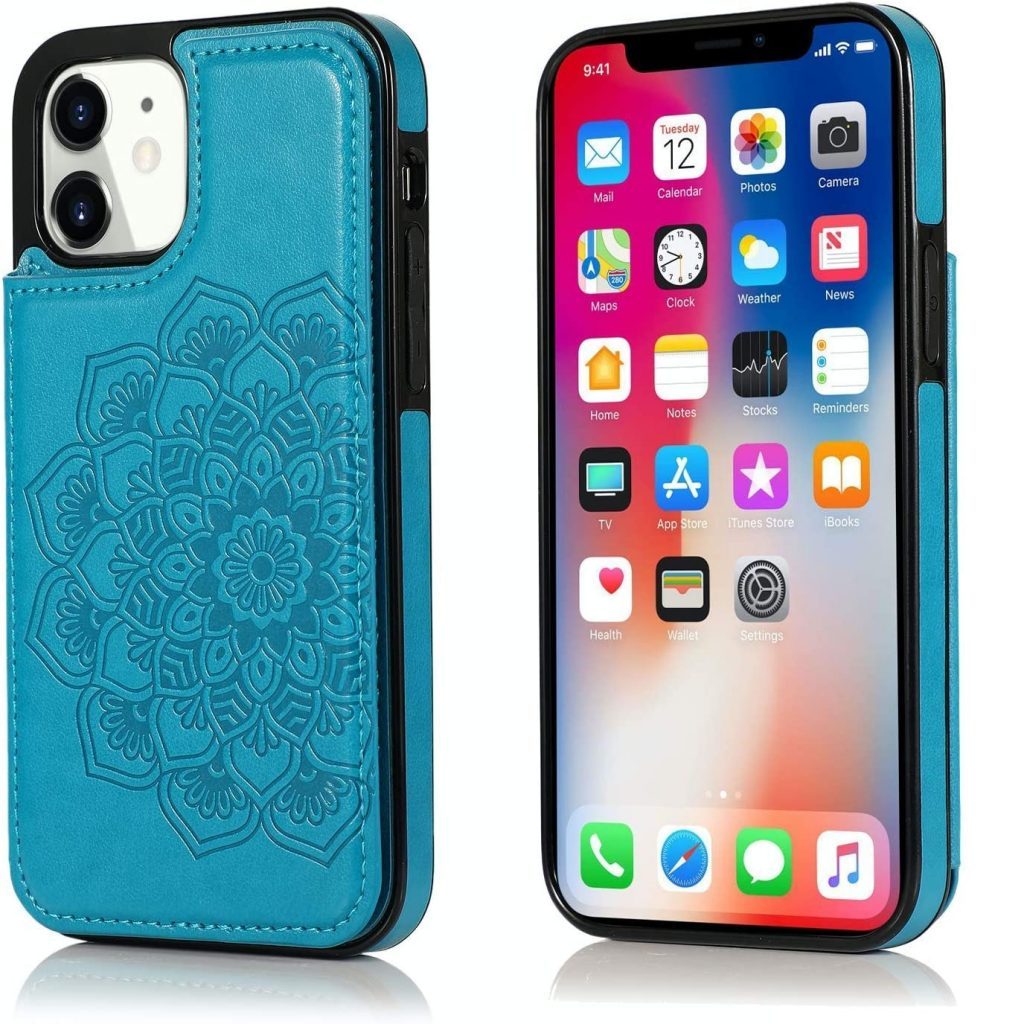 UNKNOK Compatible with iPhone 12 Mini Case