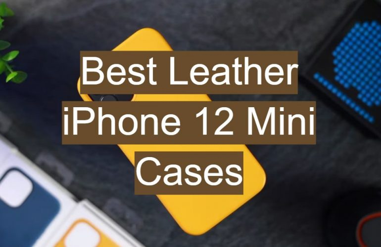 5 Best Leather iPhone 12 Mini Cases